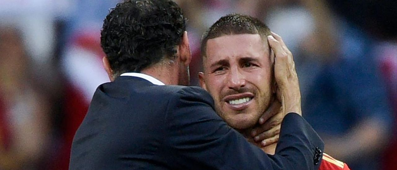 """Fernando Hierro: """"Es o ha sido un placer"""""""