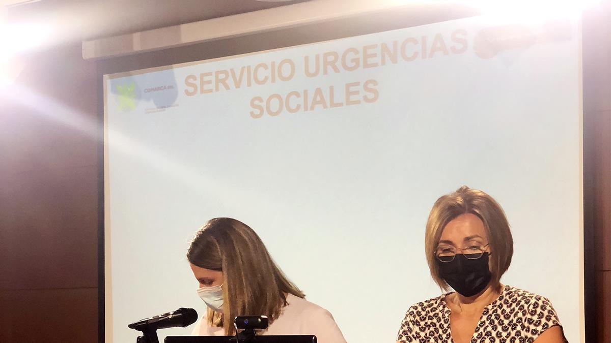 Presentación del nuevo servicio de Fraga.