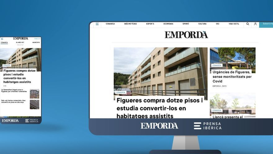 El web d'EMPORDÀ  estrena disseny, una experiència multidispositiu més dinàmica i senzilla