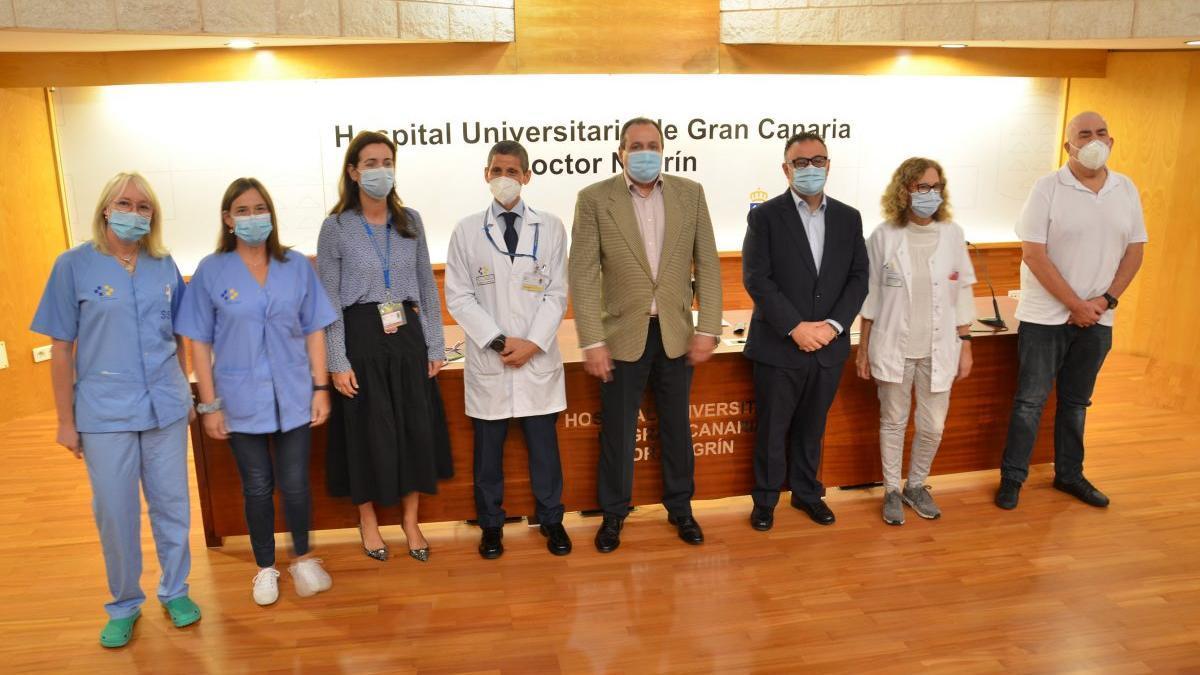 Presentación del tratamiento de linfomas y leucemia aguda linfoblástica en el Hospital Doctor Negrín.