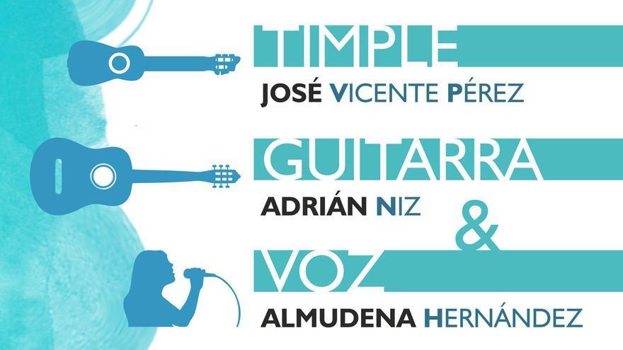 Concierto de José Vicente Pérez, Adrian Niz y Almudena Hernández
