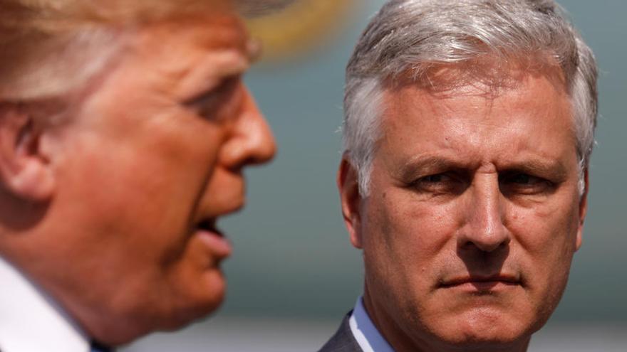 El asesor de seguridad nacional de Trump contrae el coronavirus