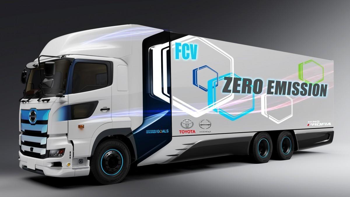 Toyota crea junto a Hino un camión de gran tonelaje de pila de combustible de hidrógeno