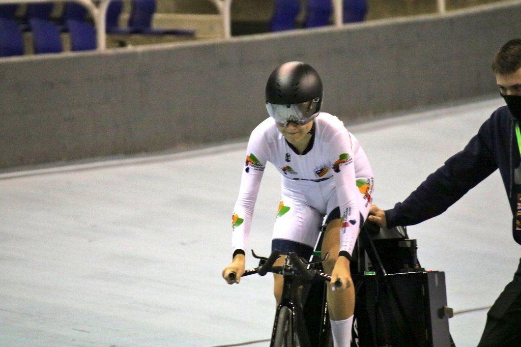 Broche de oro de los cadetes ciclistas de Baleares en el Campeonato de España de pista