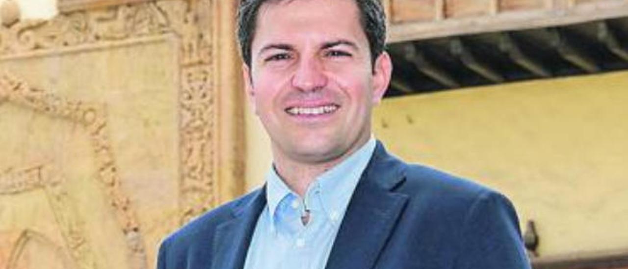 Ruymán Santana, consejero de Ciudadanos en el Cabildo.