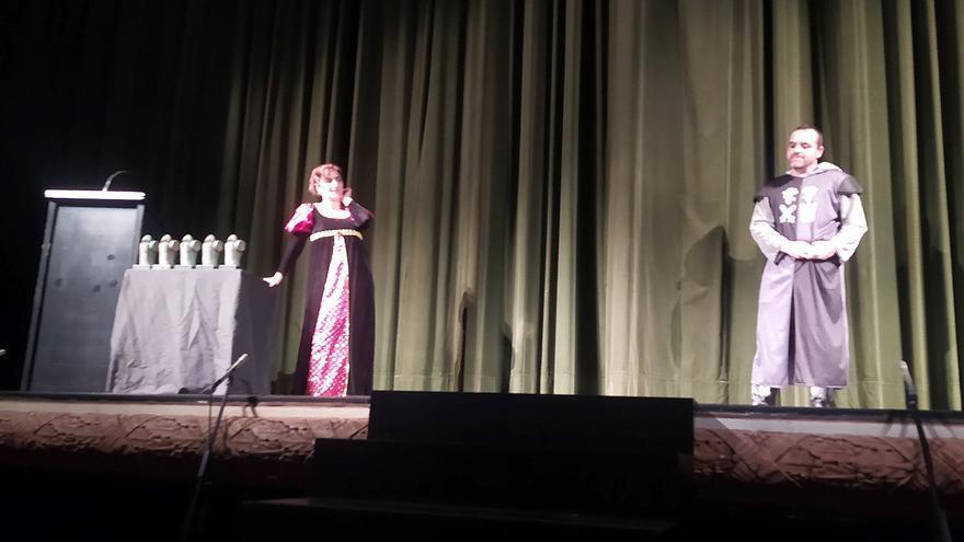 Cinco mil personas han pasado por la Mostra de Teatre Dama d'Elx