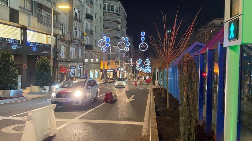 La Navidad de Vigo se encenderá antes del puente de la Constitución