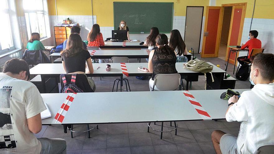 Preocupación en los institutos de Vilagarcía: sin plazas de Bachillerato para nuevos alumnos
