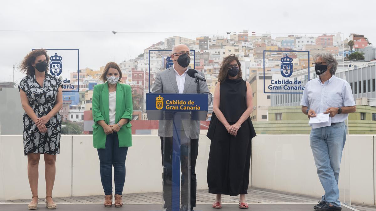 Presentación de la nueva casa de acogida para mujeres víctimas de violencia de género y con problemas de adicciones en Gran Canaria.