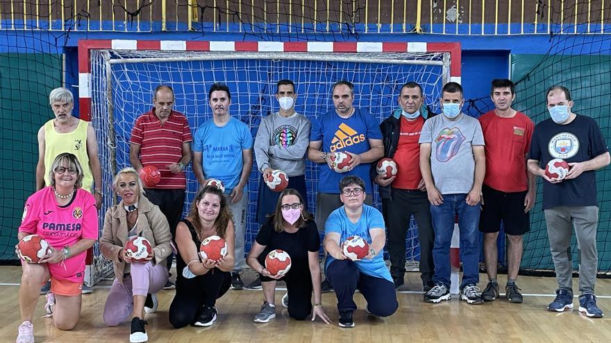 Balonmano para la inclusión en Castelló