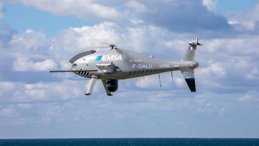 Drones para vigilar la contaminación atmosférica de los barcos