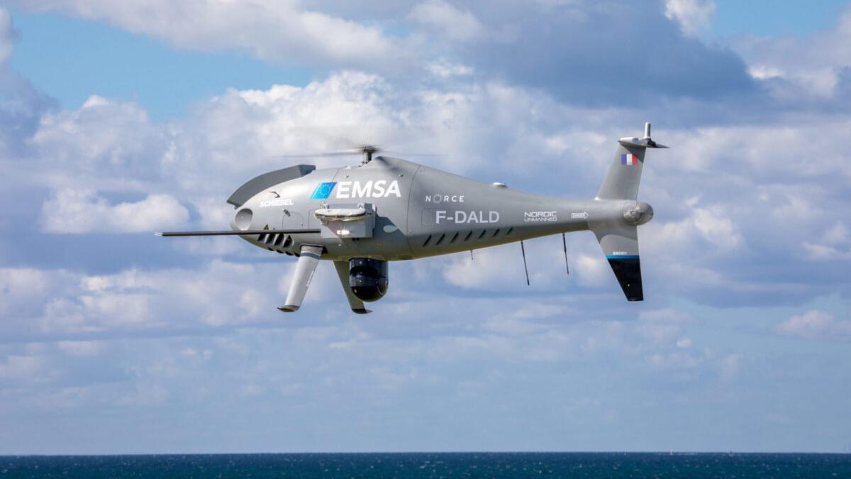 Drones para vigilar la contaminación de los barcos en el Estrecho