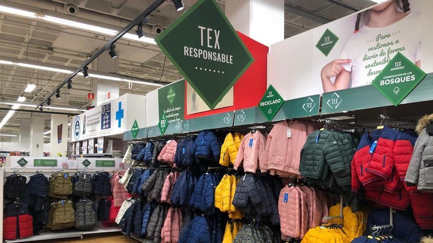 Carrefour apuesta por una moda TEX responsable