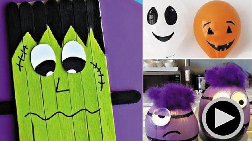 Diez manualidades de Halloween para hacer con niños