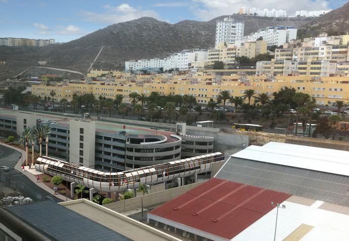 Estación del Hospital Insular y el Materno