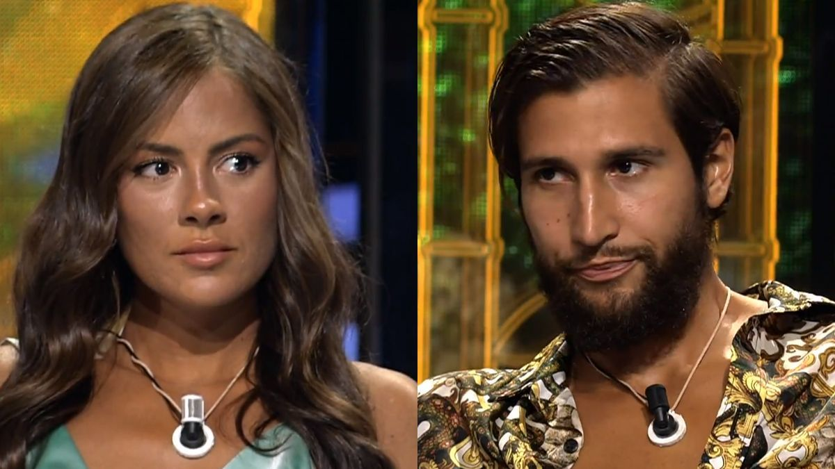 Melyssa and Gianmarco question the televoting of the final of 'Survivors':