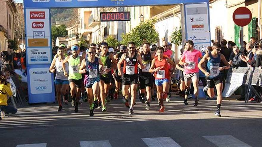 Miguel Ángel Fidalgo y Sebastiana Llabrés llegan los primeros a Alaró