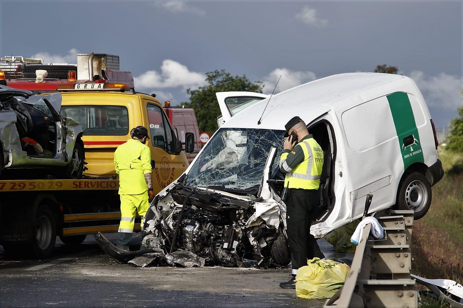 Accidente múltiple con un fallecido y varios heridos en la carretera de Villarrubia