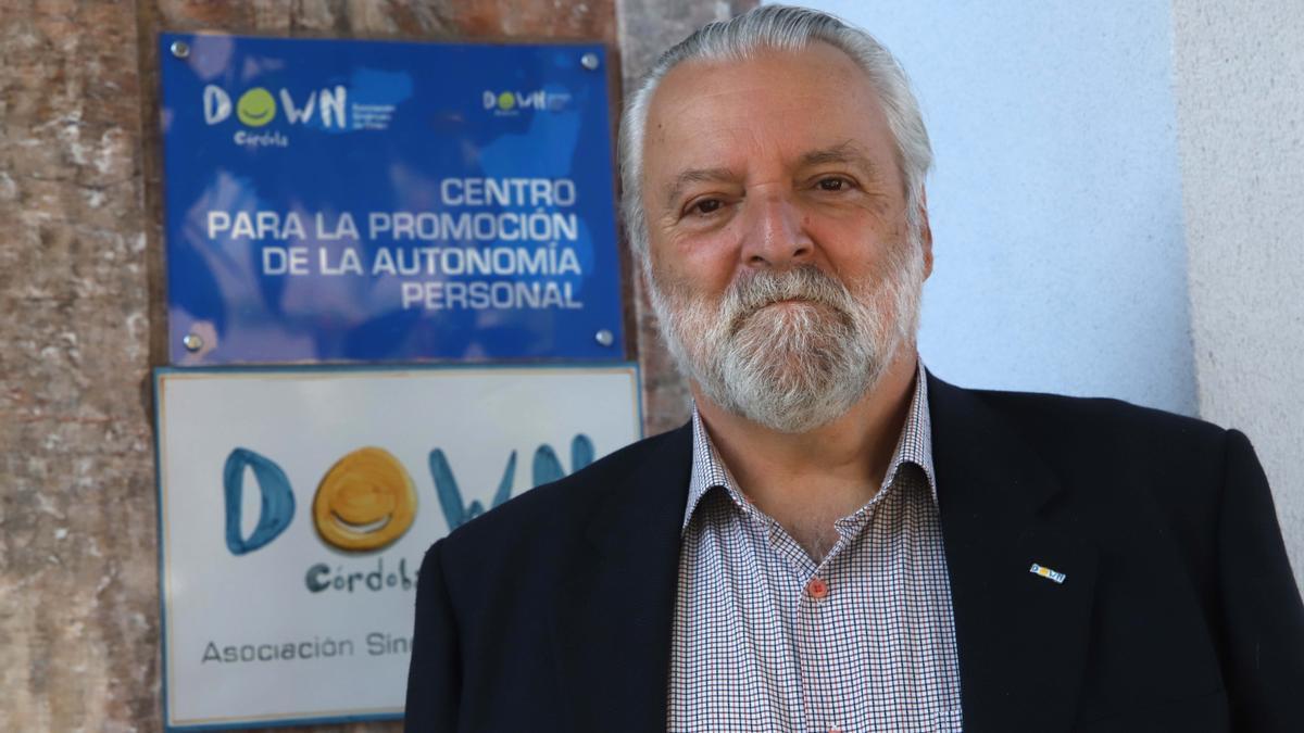 José Fabián Cámara, presidente de Down Córdoba.