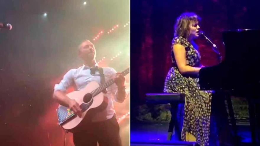 Chris Martin, Norah Jones y Jamie Cullum animan la boda del año