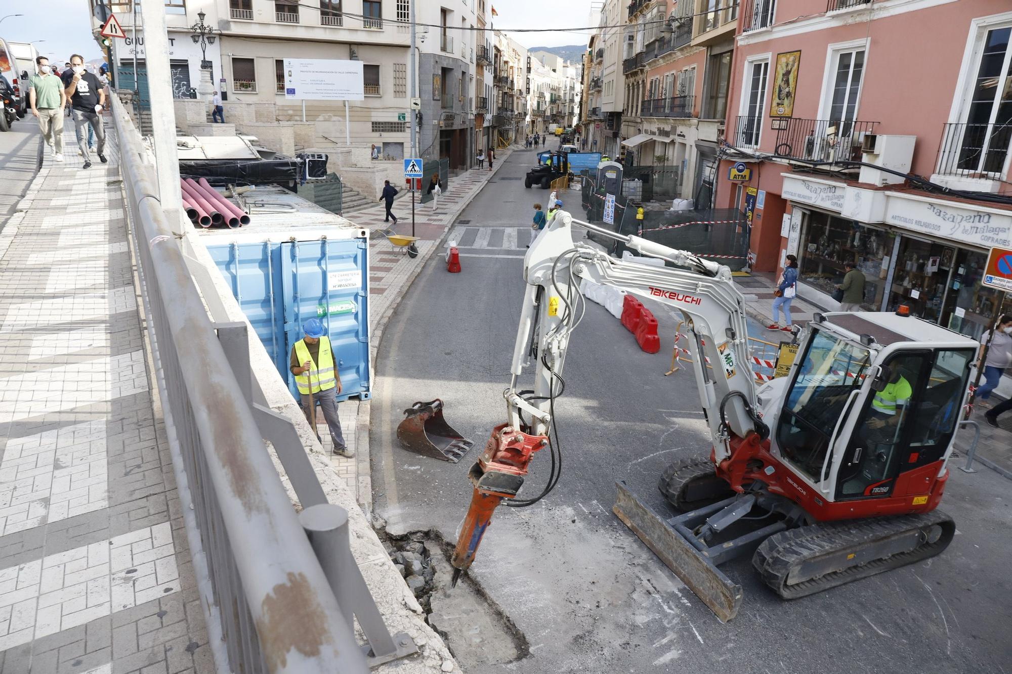 Comienzan las obras de reforma de la calle Carretería.