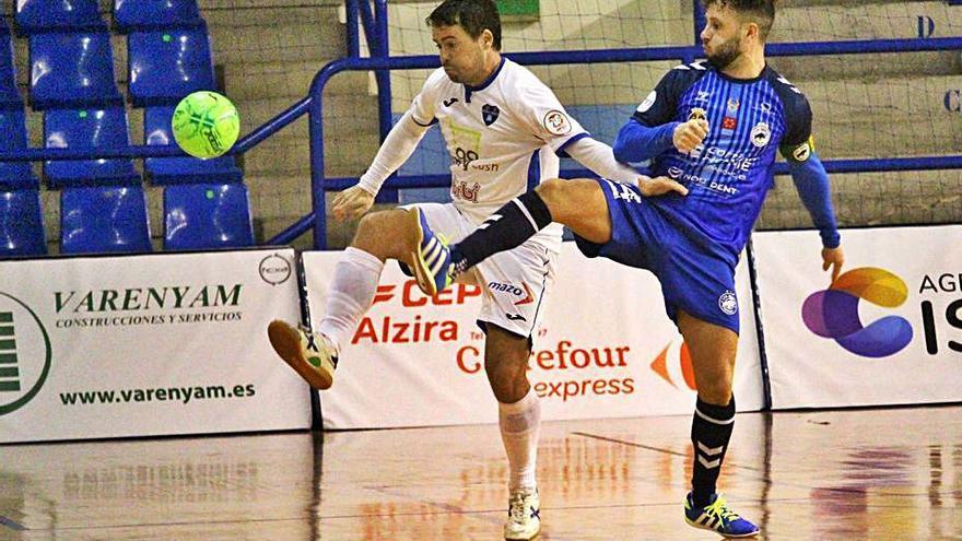 El Alzira FS recibe al equipo más goleador de Segunda