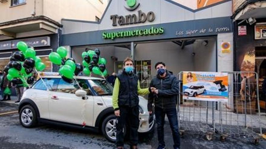 Supermercados Tambo premia la fidelidad de sus clientes