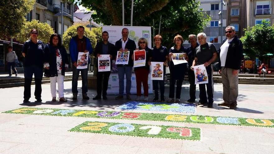 Bueu llama a la participación para convertir sus calles en un gran tapiz floral para el Corpus