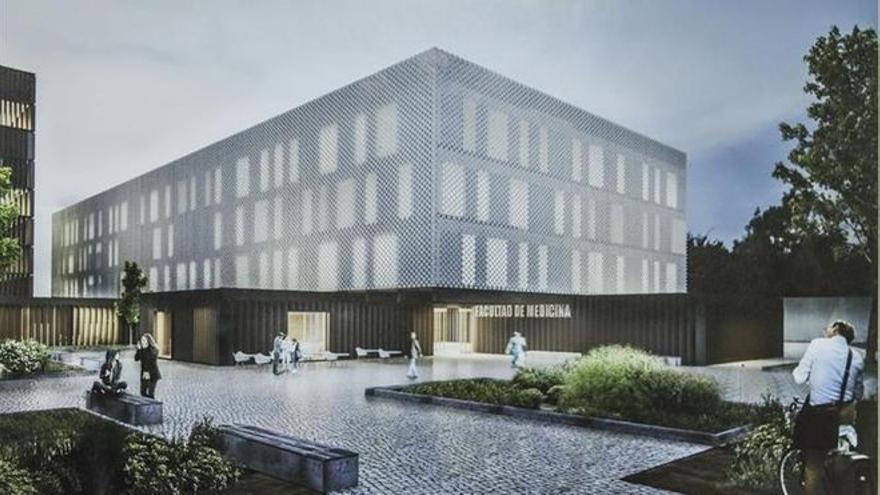 La obra de la nueva facultad de Medicina se inicia el próximo mes en Badajoz