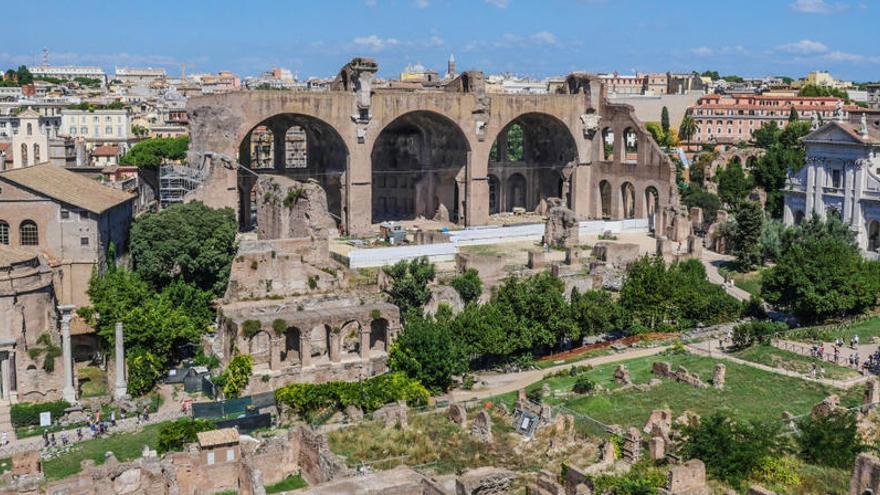 Una turista de EEUU devuelve a Roma una pieza de mármol que se llevó en 2017