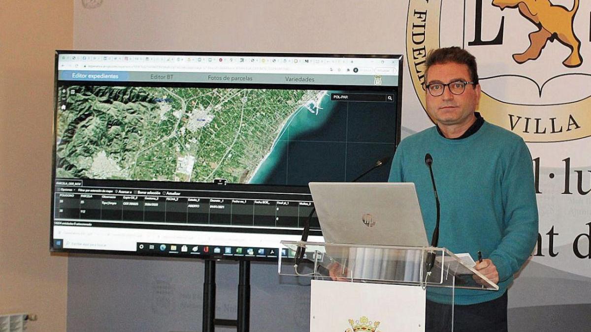 Una 'app' vigilará en Nules el abandono de suelo agrícola