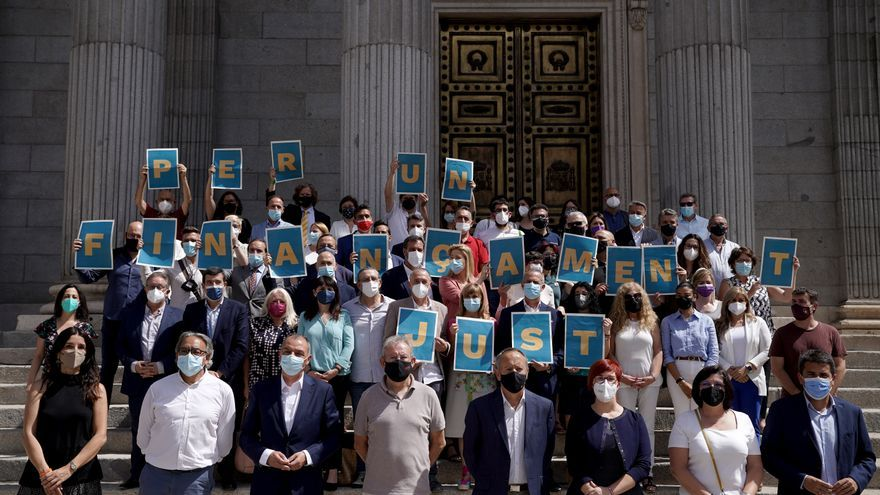 Unidad valenciana en Madrid para reclamar la financiación