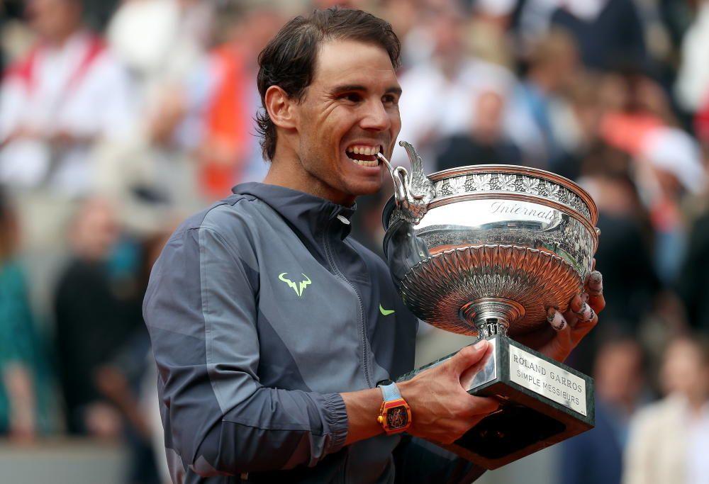 Roland Garros, final: Dominic Thiem - Rafa Nadal