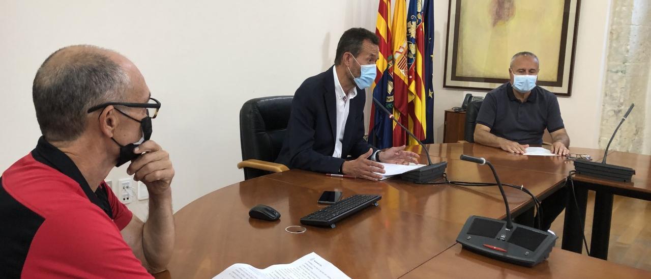 El anuncio hoy por parte del alcalde, el concejal de Deportes y el responsable de la organización de la Media Maratón