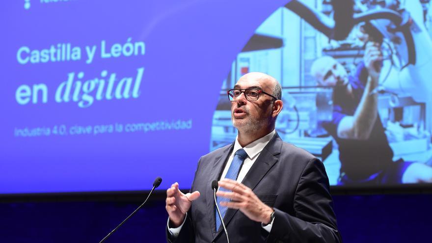 """Emilio Gayo: """"Nuestro compromiso es cerrar el mapa de cobertura de ultra banda ancha en Castilla y León en 2025"""""""