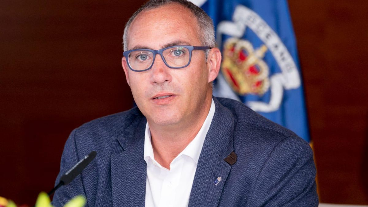 The general director of Waters of the Government of the Canary Islands, Víctor Navarro