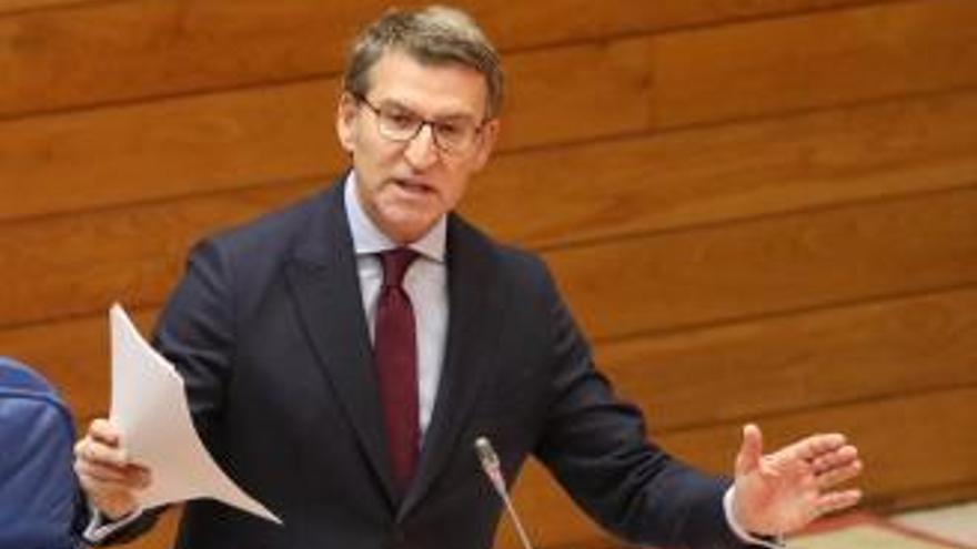 Feijóo pone las condiciones para demandar nuevas competencias para Galicia
