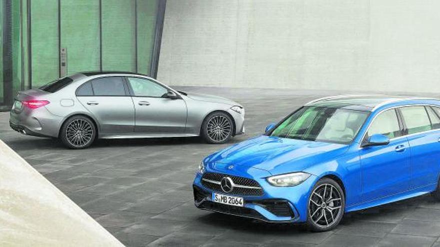 El Mercedes-Benz Classe C guanya al juliol