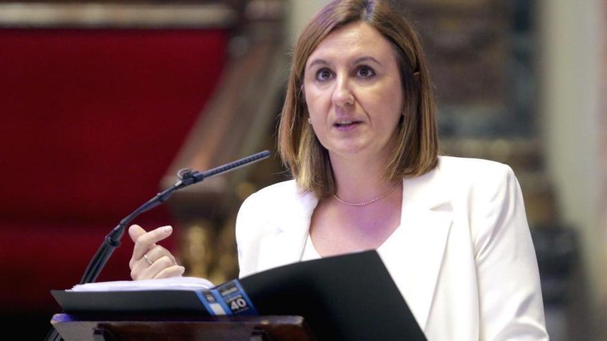 María José Catalá (PP) da a luz a la pequeña Julia