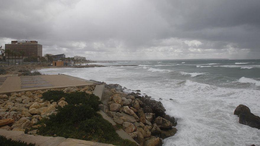Precipitaciones y viento el fin de semana de Tots Sants en Mallorca