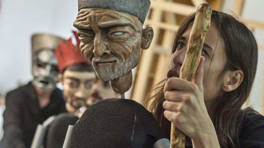 Edipo: tragedia griega con marionetas