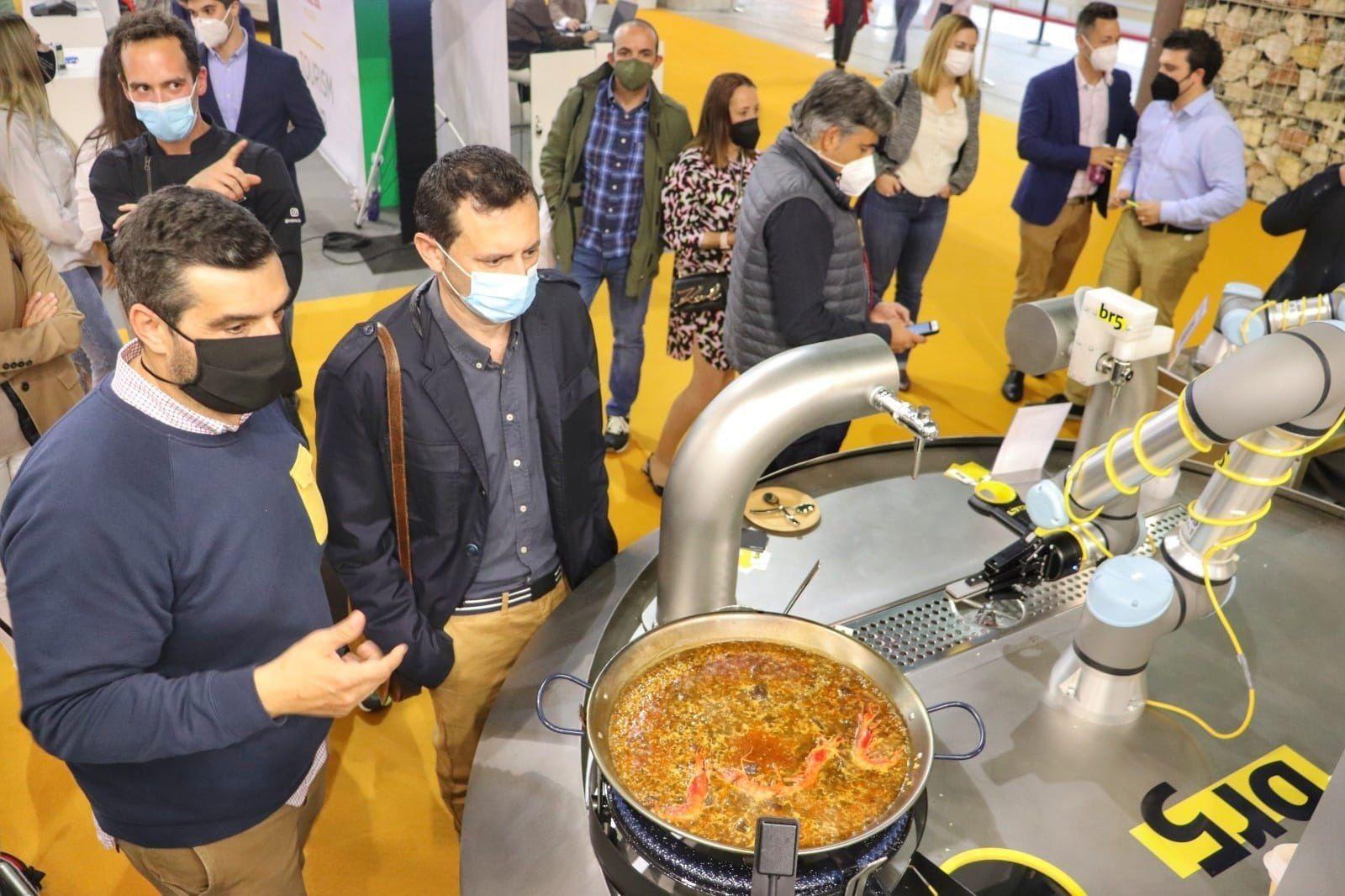 El robot capaz de cocinar una paella