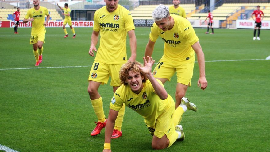 Un zarpazo del 'león' Jorge Pascual brinda el triunfo al Villarreal C (2-0)