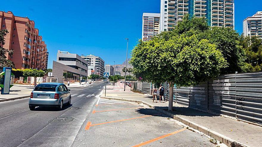 La Vila Joiosa retomará la zona azul y naranja de la Cala en 2021