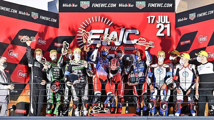 David Checa queda segon a Estoril