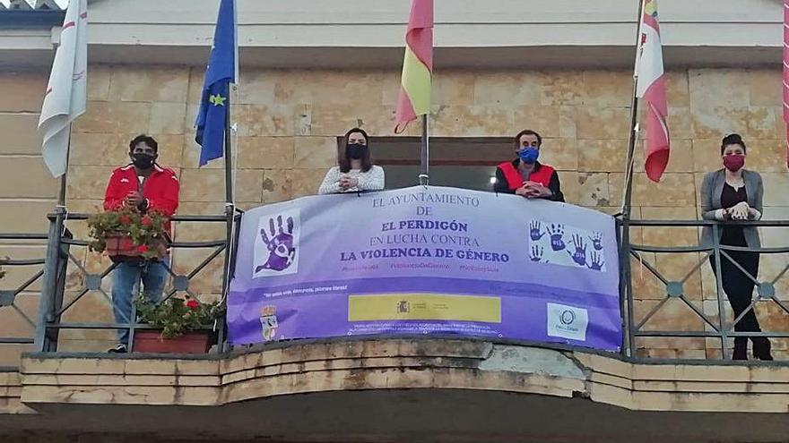 El Perdigón, Tardobispo y San Marcial, contra la violencia de género