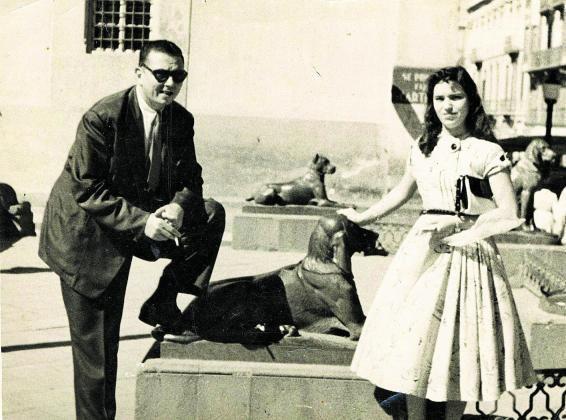 Néstor Álamo y Mary Sánchez