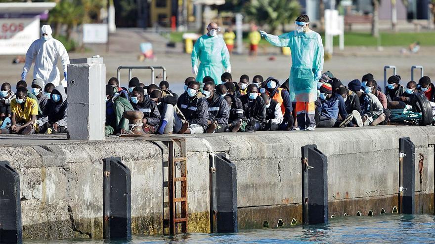 Seis migrantes fallecidos al llegar a Canarias por mar en cinco días