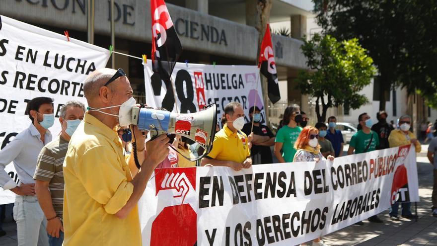 CGT realiza concentraciones y huelga en Córdoba en defensa del sector público