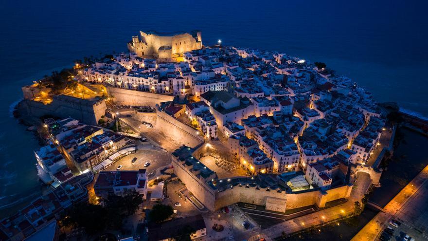 Peñíscola se deja redescubrir con estas impresionantes fotografías aéreas